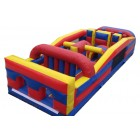 Obstacle Course - $300 12X36X10 2 piece with Rock Climb Slide red $525