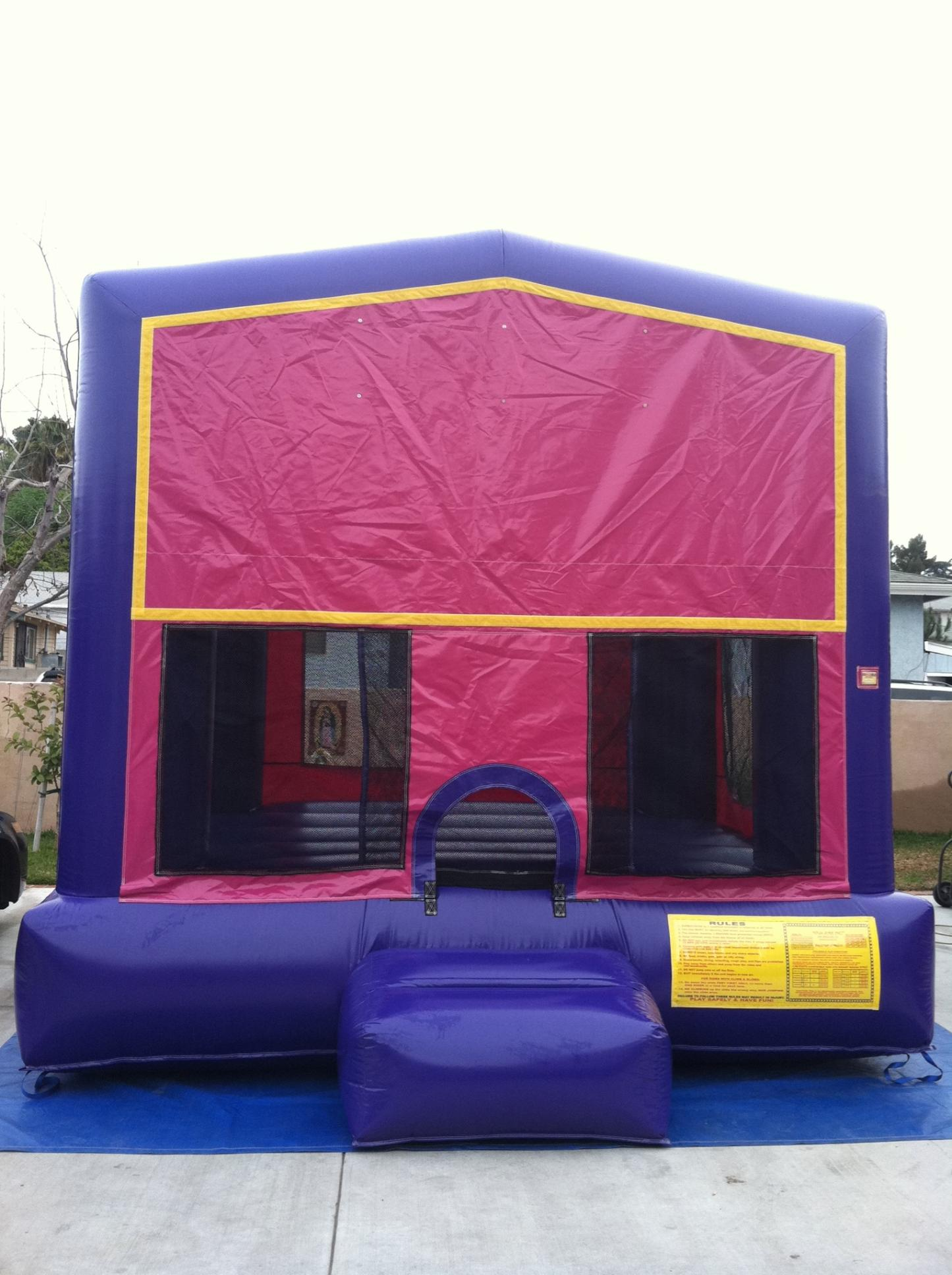 Pink Bounce 13x13 $135