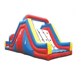Rock Climb Slide - $275 12X34X10 2 piece with Obstacle red $525