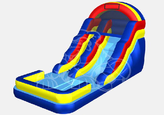 Waterslide w/pool 18ft $325