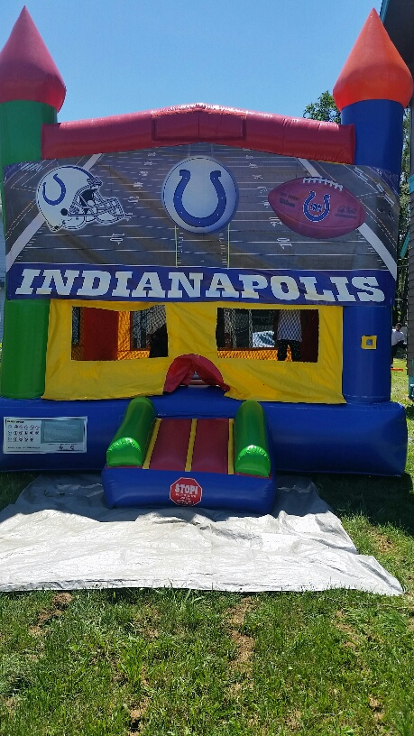 Having a Colts Party? Reserve a Colts Bounce Today $160