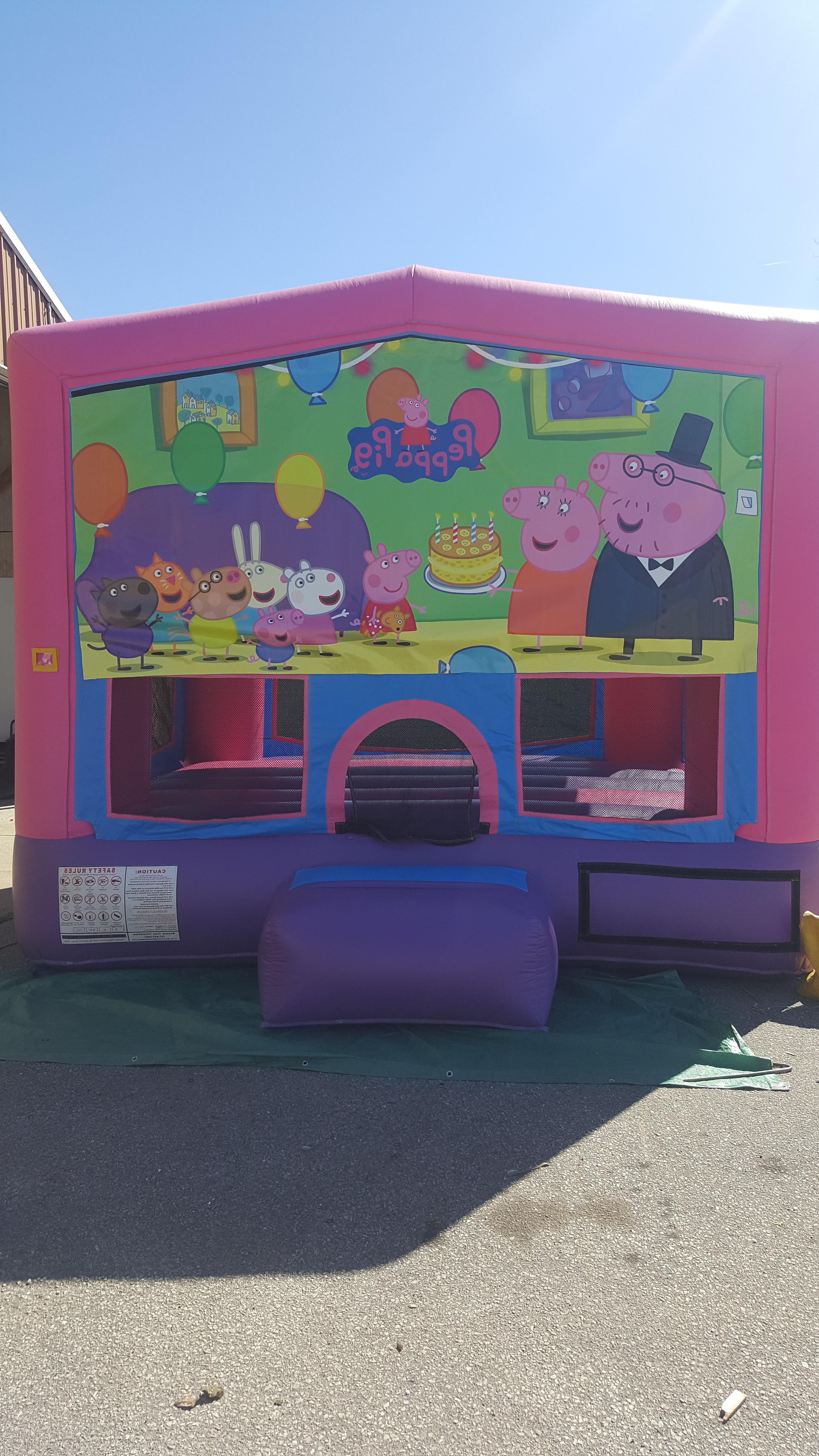Peppa Pig $160  13x13  $175 15x15