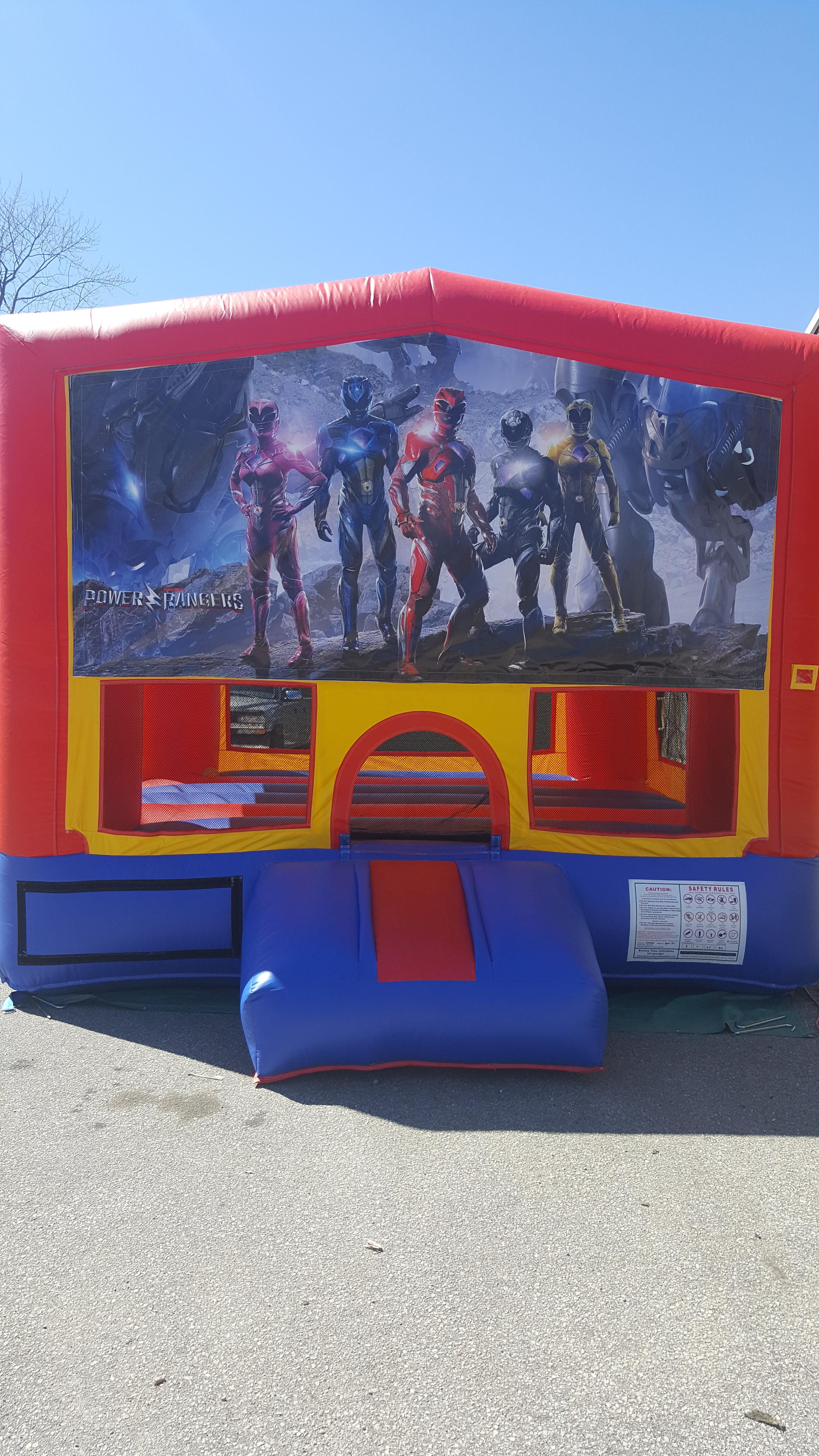 Power Rangers $160  13x13  $175 15x15