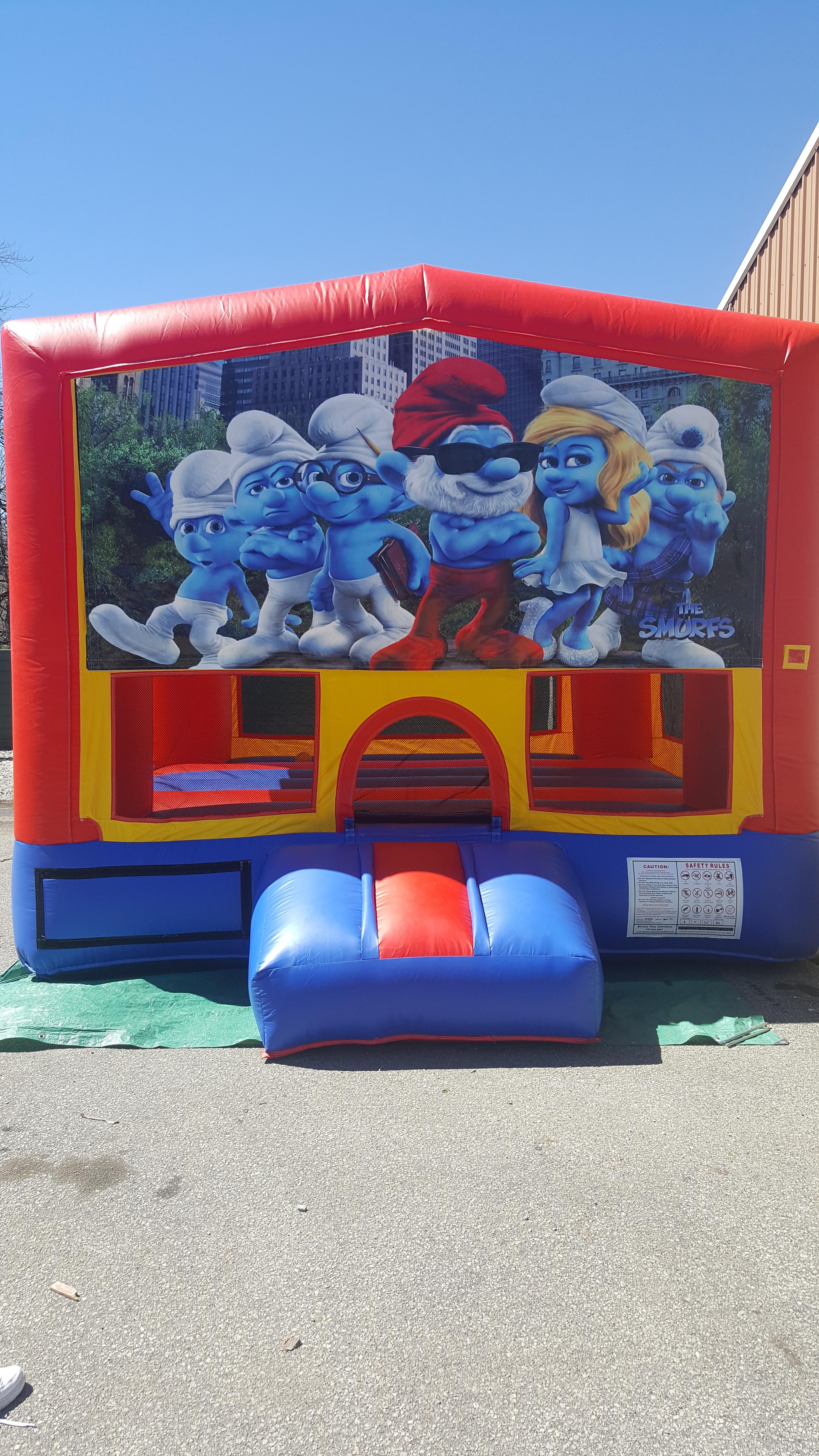 Smurfs $160  13x13  $175 15x15